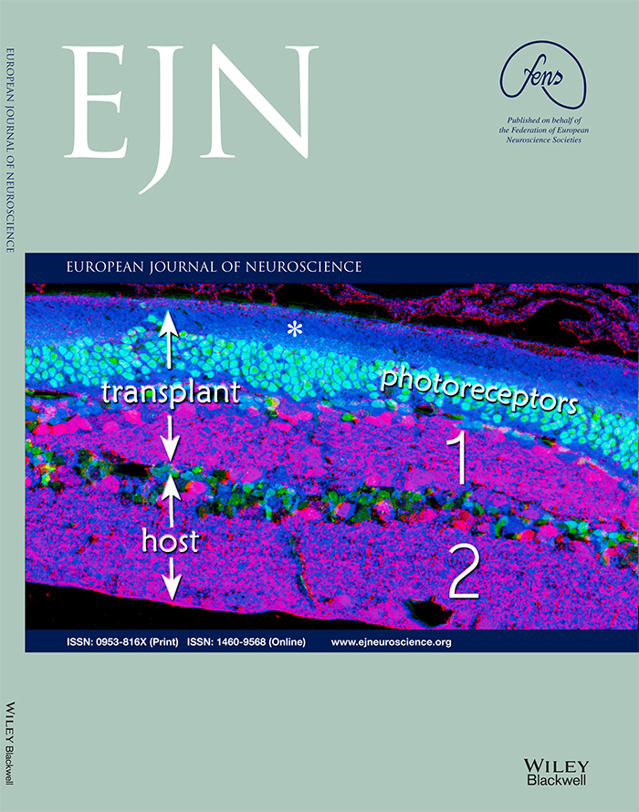 Cover of European Journal of Neuroscience