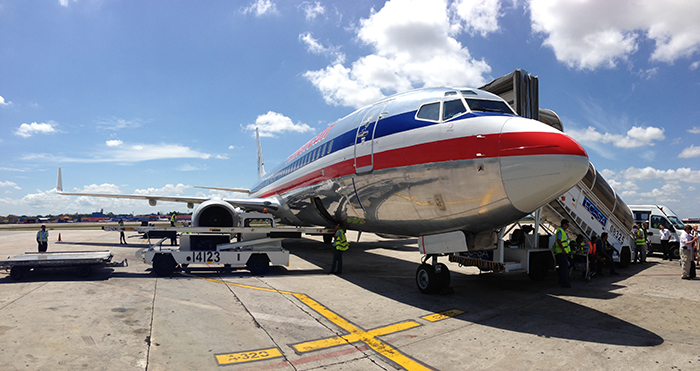 American Airlines to Havana