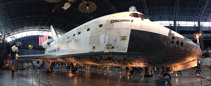 Space Shuttle Discovery panorama_