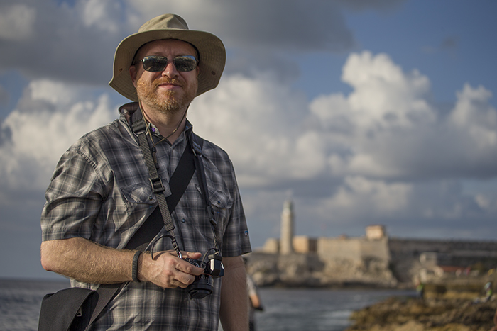 Duncan on the Malecon