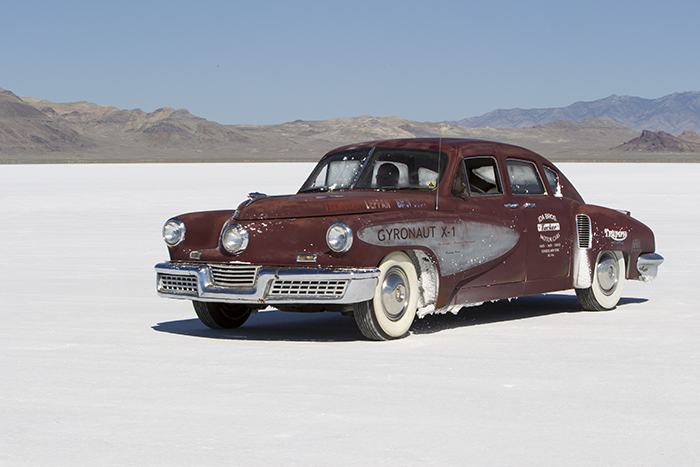 1948 Tucker on saltflats