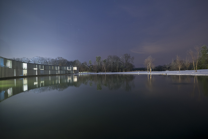 Janelia Farm at night_