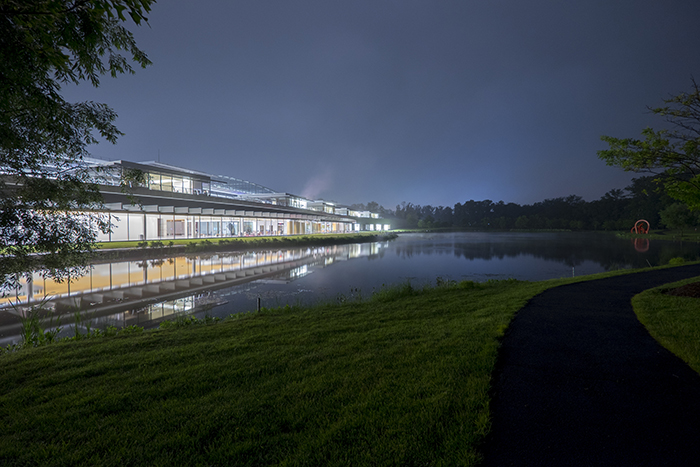 Janelia Farm In The Rain