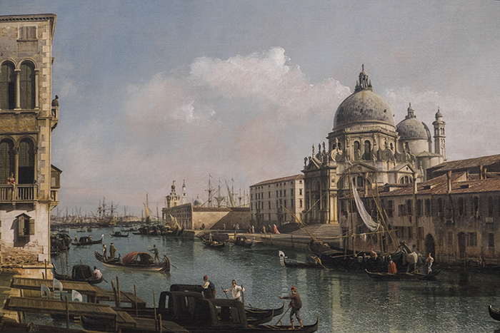 Bernardo Belloto View of the Grand Canal