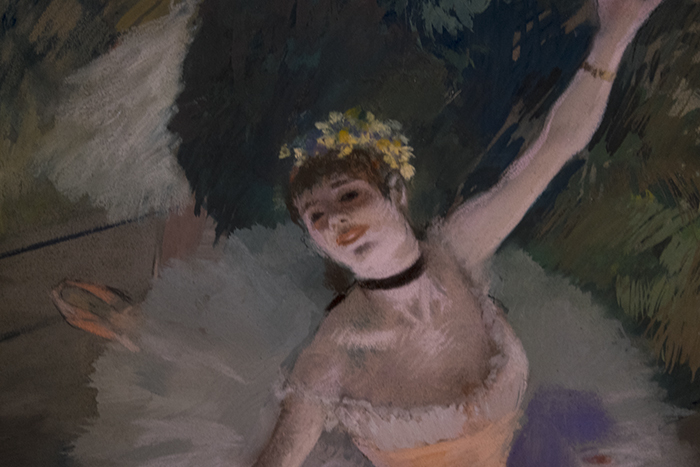 Degas Dancer Taking a Bow