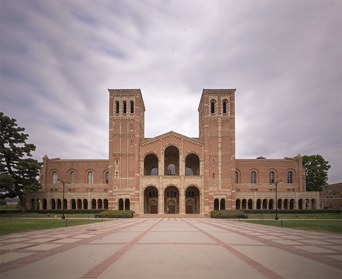 UCLA campus building