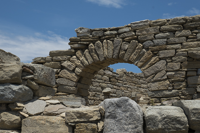 Archway ruins