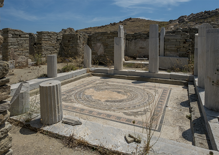 Mosaic floors Delos