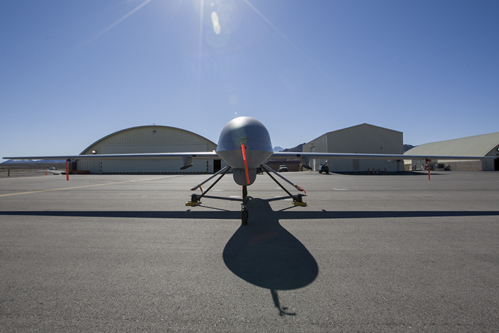 General Atomics Predator front