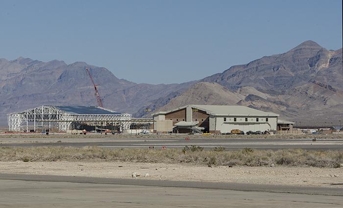 New hangars