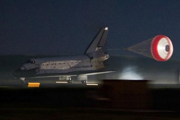 space shuttle landing in utah - photo #1