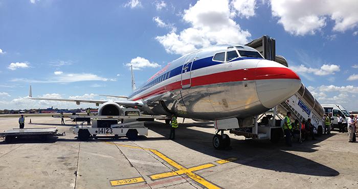 American Airlines to Havana