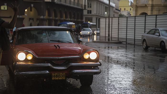 Rainy Havana Streets