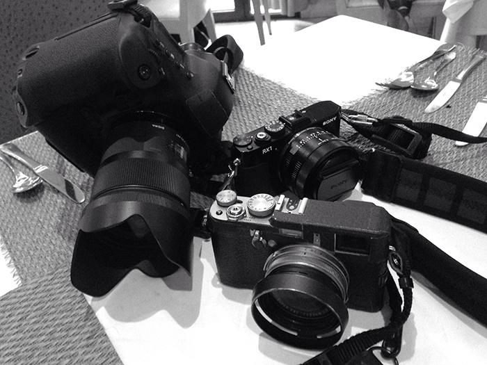 Canon Fuji Sony