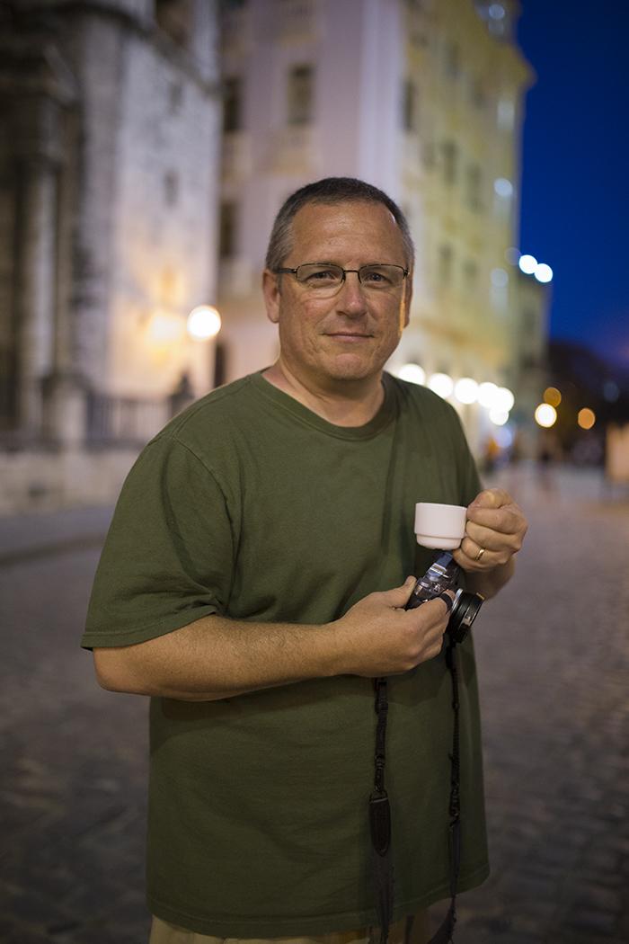 David Hobby in Cuba