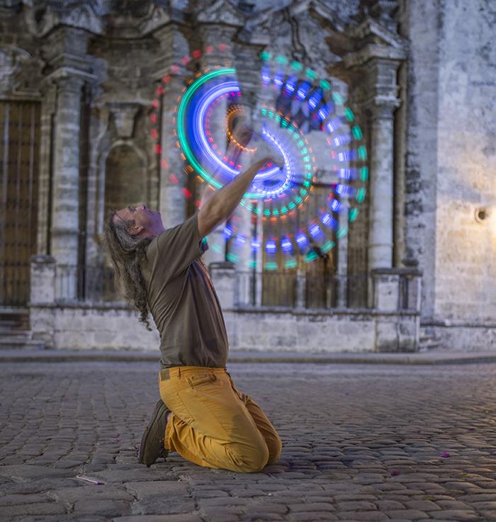 Waldemar spinning