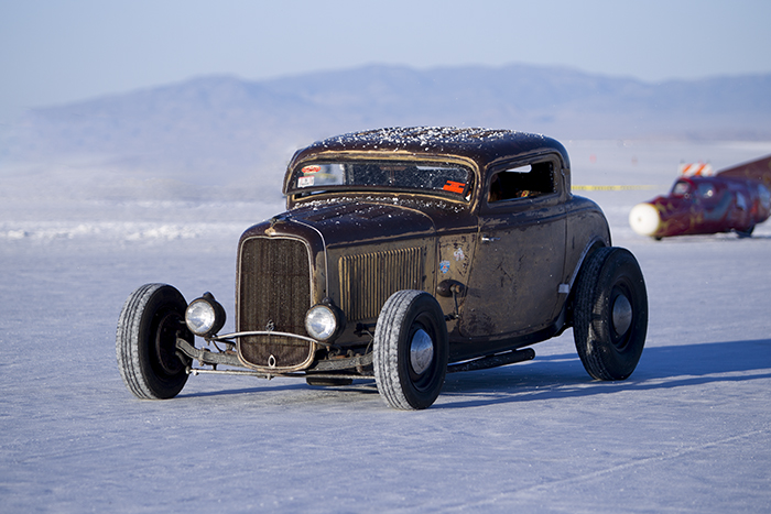 Hot rod on salt