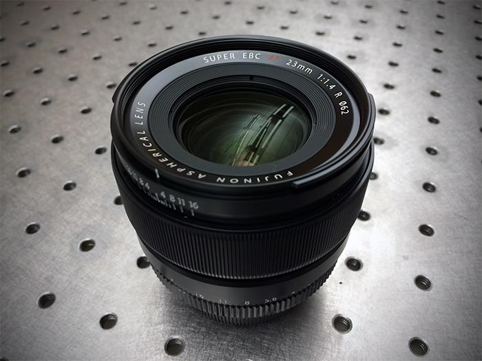 Fuji 23mm lens
