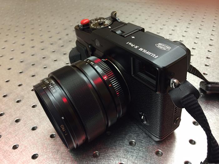 Fuji 23mm on XPro