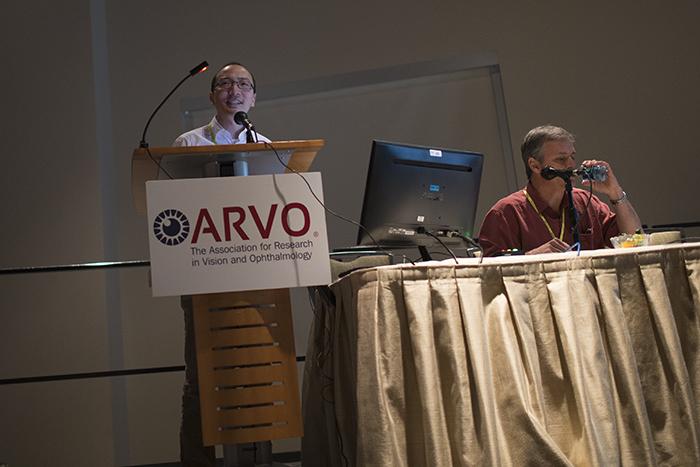 Wei Li presenting