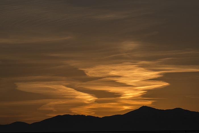 December 2 sunset