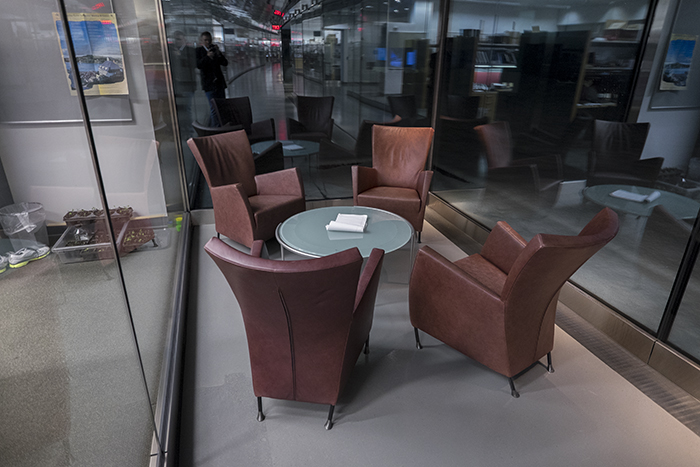 Janelia labs sitting area