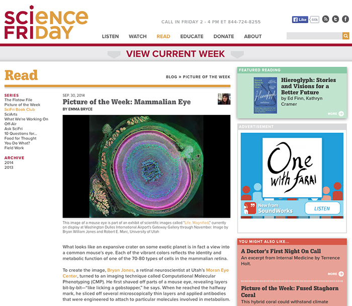 Metabolomic Eye On Science Friday