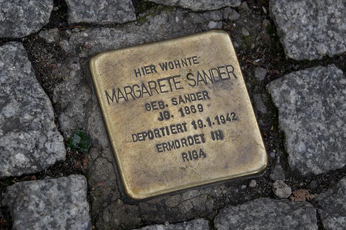 Stolperstein Margarete Sander