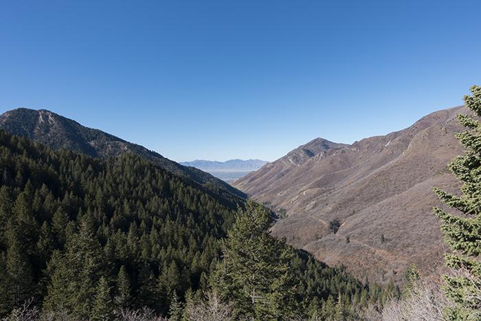 Millcreek Canyon overlook