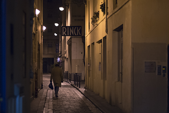 Parisian back street