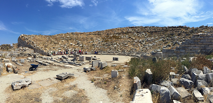 Delos amphitheatre_