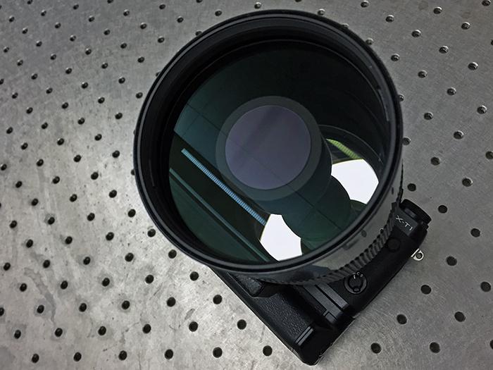500mm lens front