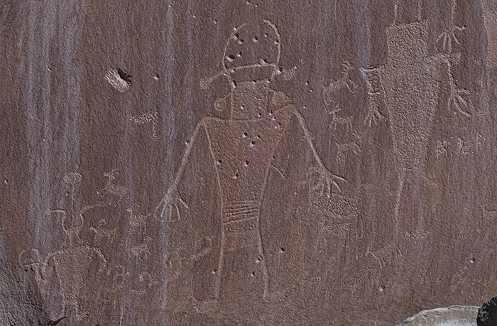 Petroglyph crop