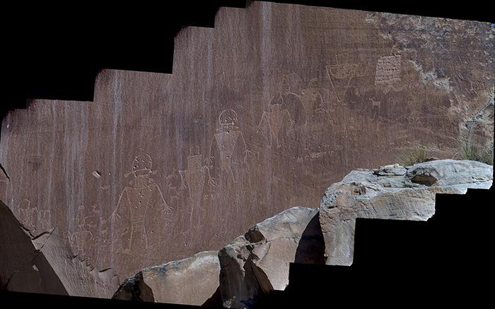 Petroglyph panorama_