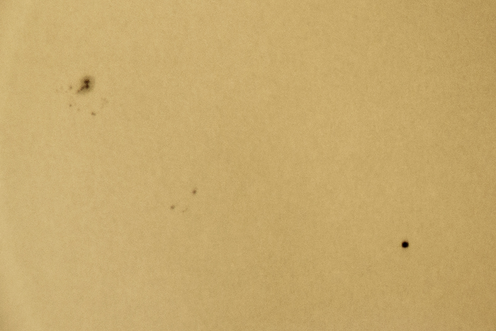 Sun with Mercury Transit 3_