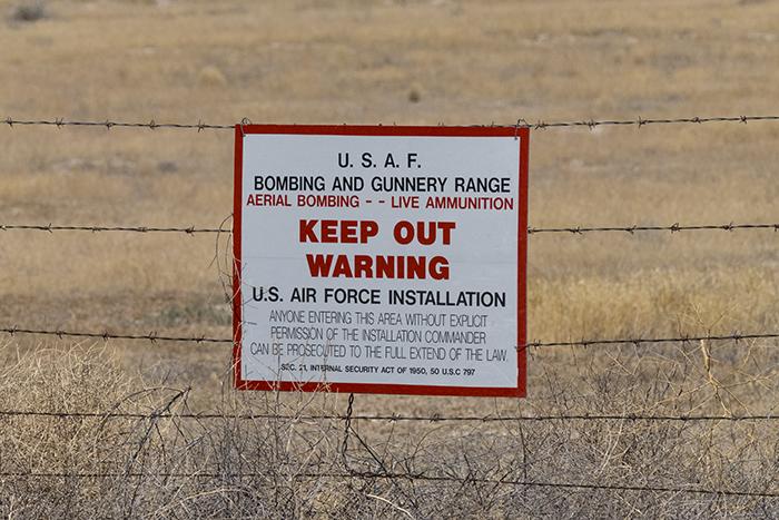 Gunnery range